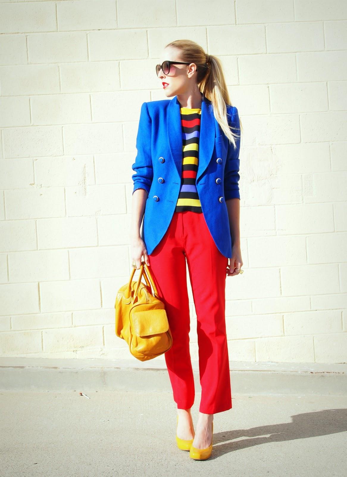 Fashion trend color blocking 98