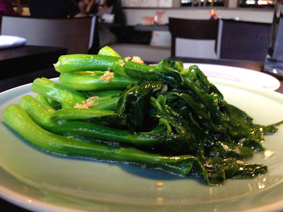 Chinese greens at Hakkasan SF