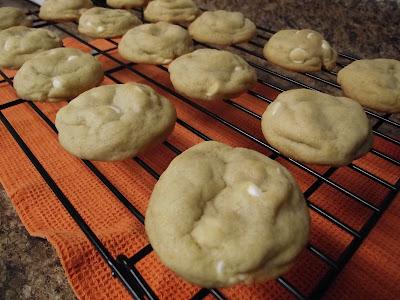 Orance Creamsicle Cookies