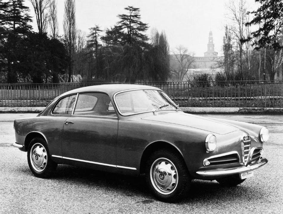 Alfa Romeo Giulietta Sprint 1954~1956.