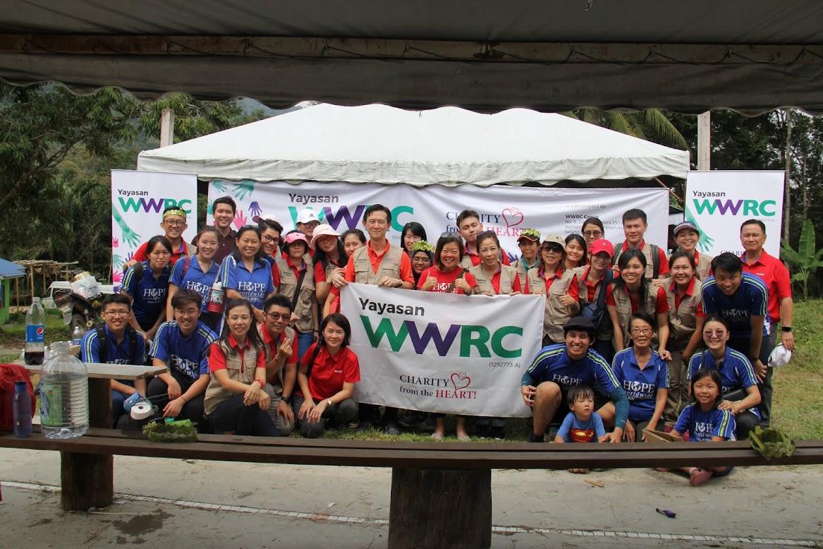 Yayasan WWRC and HOPE worldwide Malaysia