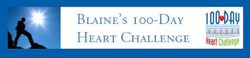 Blaine's 100-Day Heart Challenge