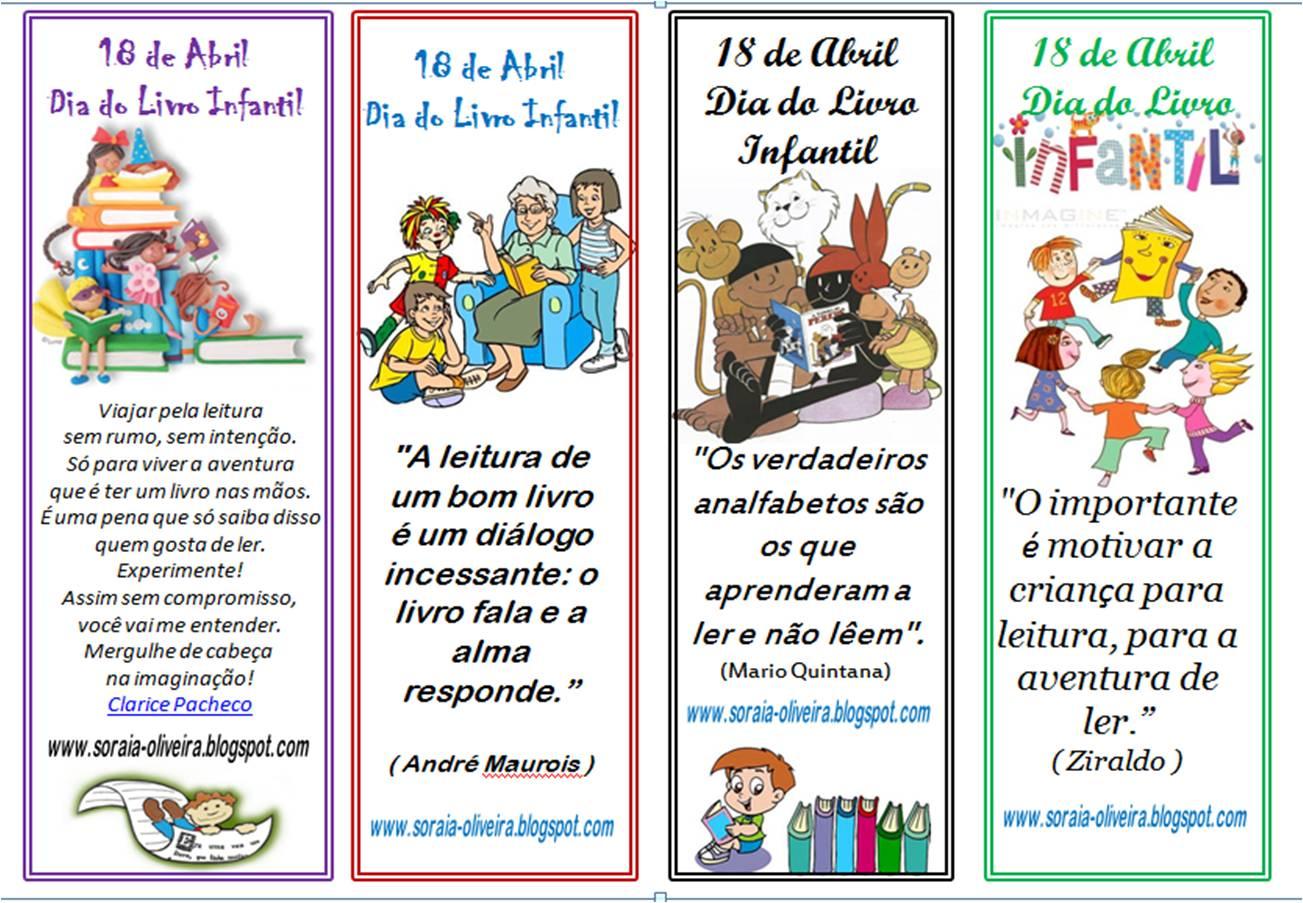 Soraia Oliveira Lembrancinhas Para O Dia Do Livro Infantil