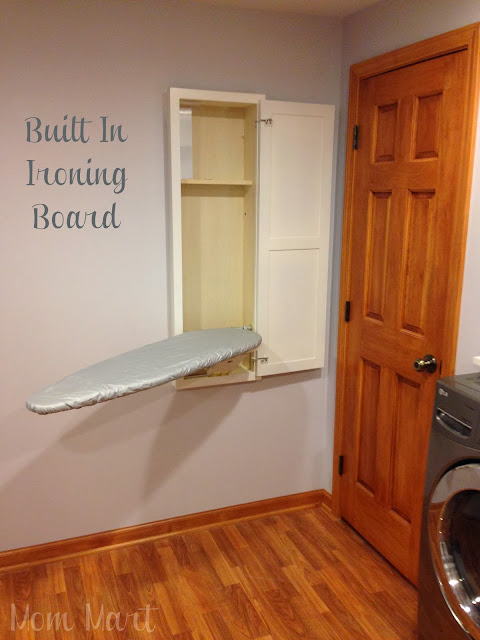 Built In Ironing Board
