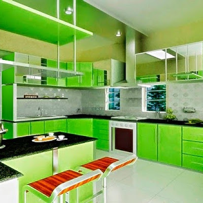 cores de cozinha planejada pequena