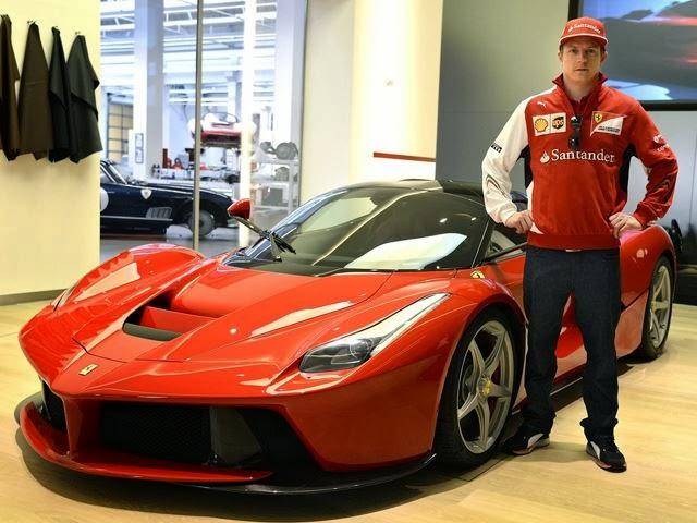 Ferrari LaFerrari Kimi Raikkonen