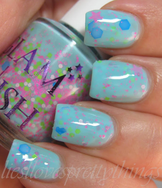 Glam Polish Neon Nubs swatch and review