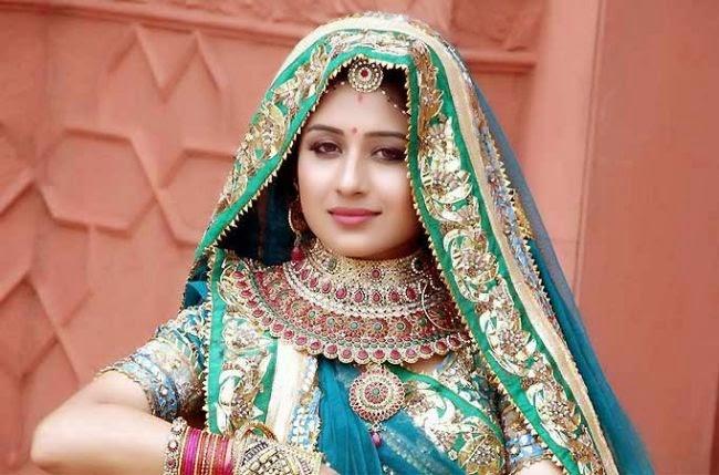 Foto Paridhi Sharma Pemeran Jodha ANTV