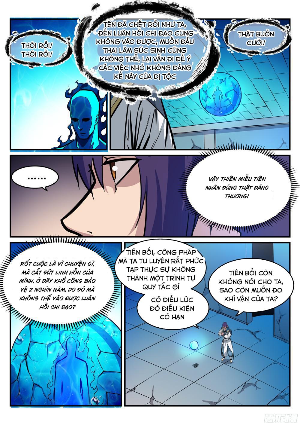 Bách Luyện Thành Thần Chapter 217 - Hamtruyen.vn