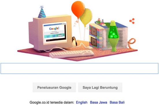 Kapan Ulang Tahun Google?