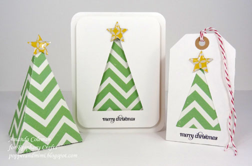 Popper and Mimi: Easy Christmas Cards, Tags, and Boxes