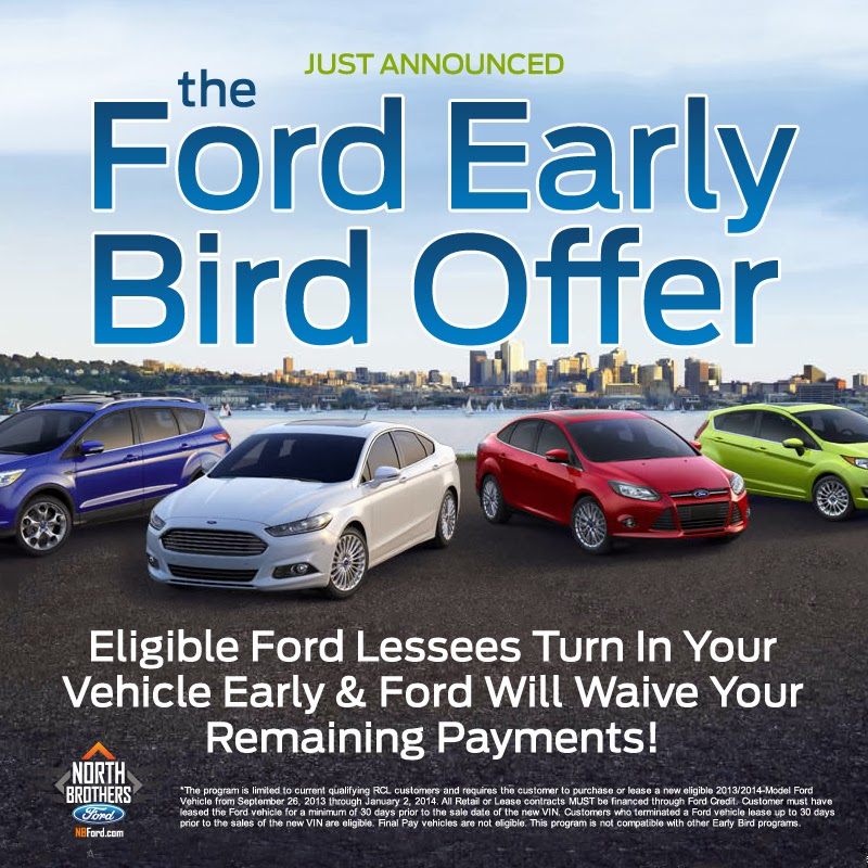 The Ford Early Bird Offer