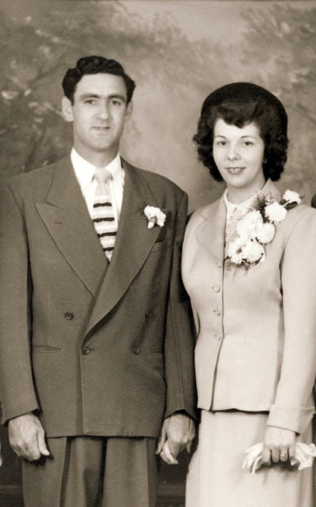 Wedding photo of Adrien Laneville and Joan Belair
