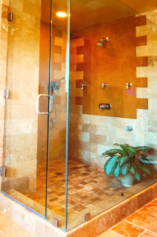 French Country Shower