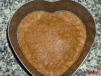Tarta Petit Suisse-galletas en el molde