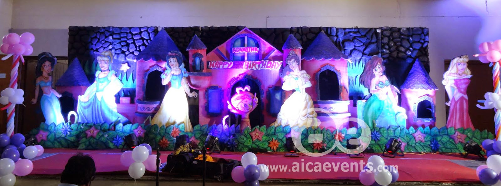 Aicaevents barbie theme decorations for girls birthday for 1st birthday stage decoration