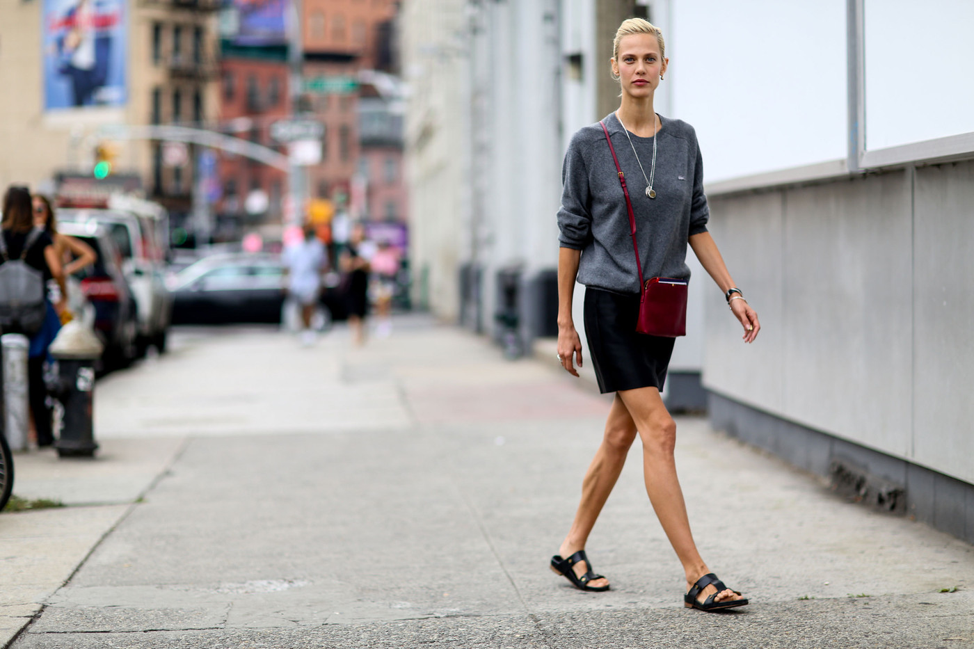 Nyfw street style aymeline valade 39 s casual outfit the - Bureau style new york ...