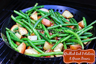 Grilled Red Potatoes & Beans