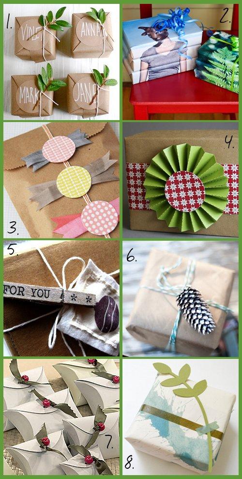 Handmade diy christmas gift wrap ideas soap deli news for Homemade craft gift ideas
