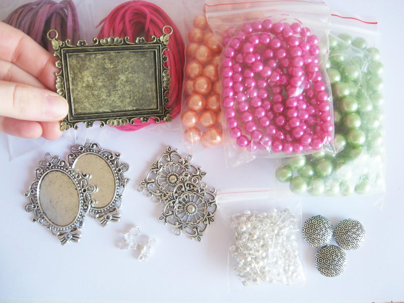 commande fournisseur apprêts perles