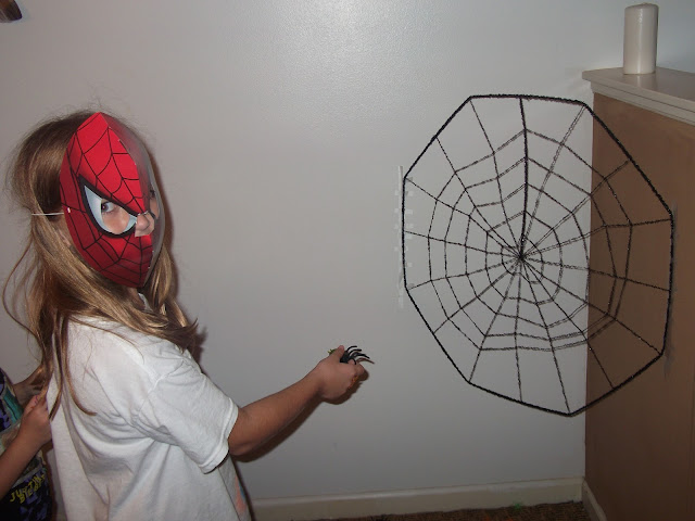 spider man party games