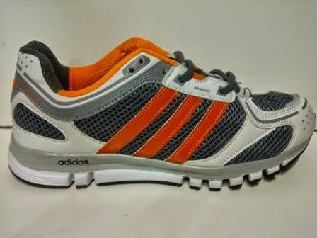 Sepatu Adidas Lethazone abu putih