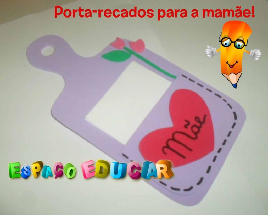Populares ESPAÇO EDUCAR: Lembrança para o dia das mães - Tábua de carne  QG15