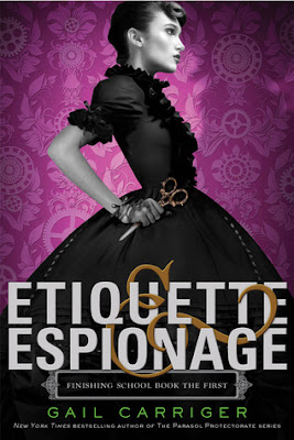 Cover image of Etiquette & Espionage by Gail Carriger