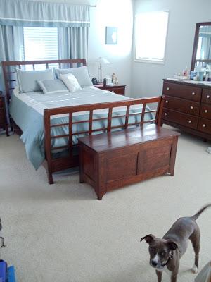 Master Bedroom Blanket Box