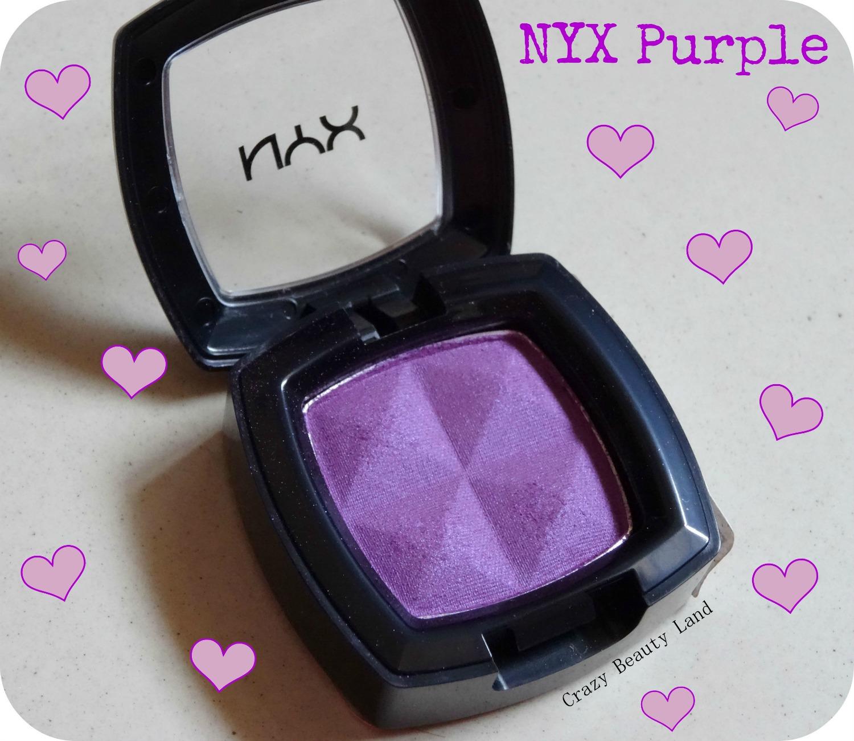 NYX Single Eye Shadow in Purple