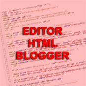 Editor HTML Blogger Anda Blank?