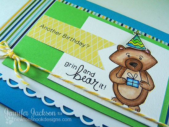 Winston's Birthday | Bear Birthday Cards | Newton's Nook Designs