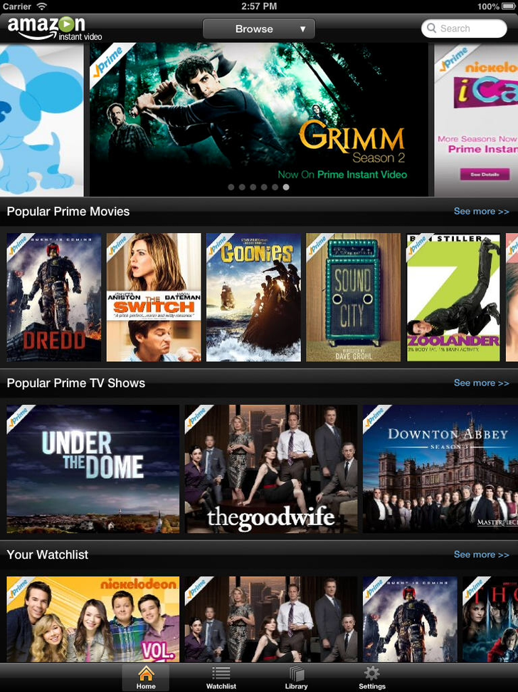 Amazon Instant Video App iTunes App By AMZN Mobile LLC - FreeApps.ws