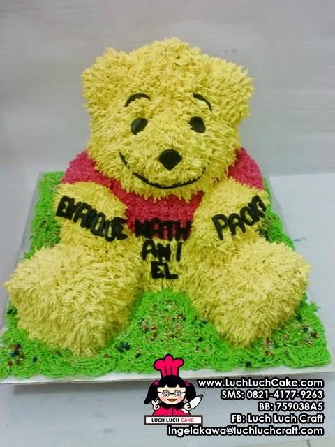 Kue Tart 3D Winnie The Pooh