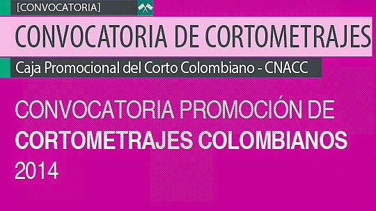 Convocatoria de Cortometrajes CNACC 2014