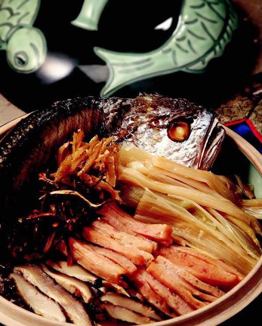 Cordyceps militaris yellow corvina stew