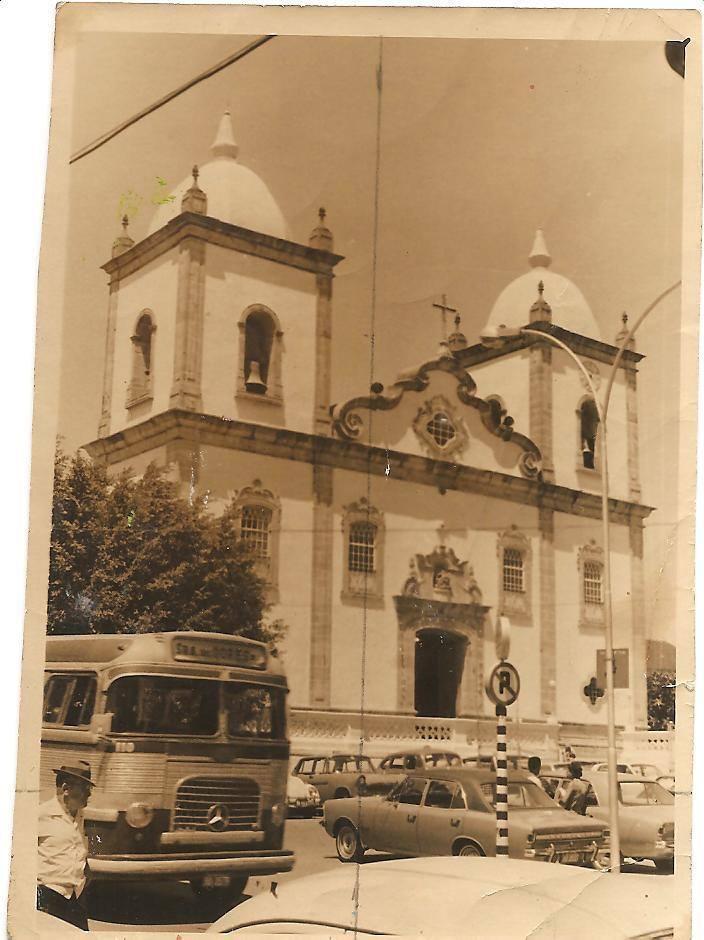 Igreja da Matriz de Nossa Senhora da Piedade de Barbacena MG - Década 70