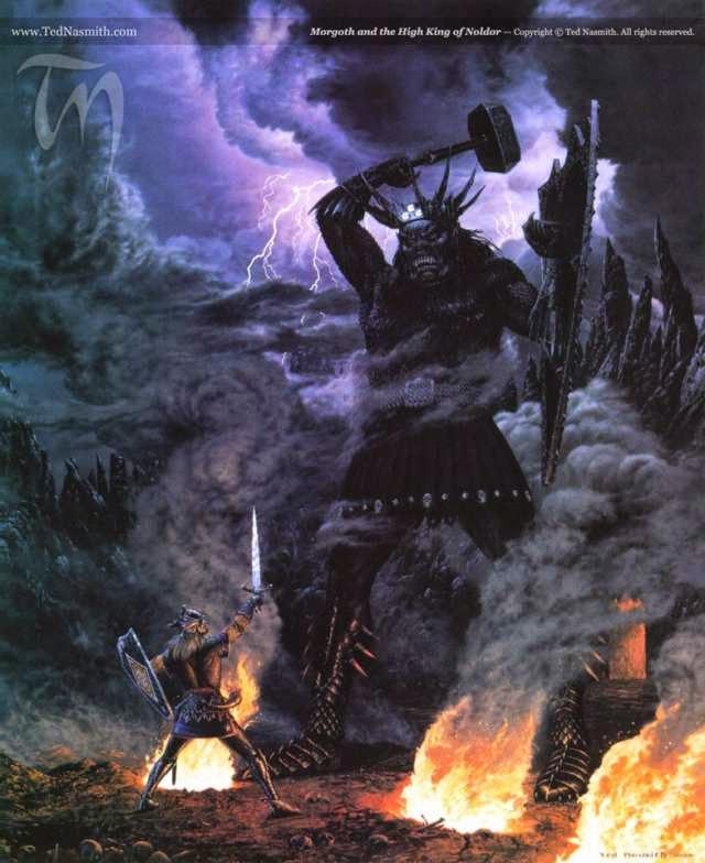 Morgoth y el Gran Señor de los Noldor