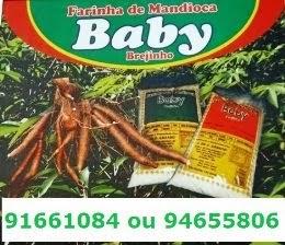 FARINHA DE MANDIOCA BABY BREJINHO