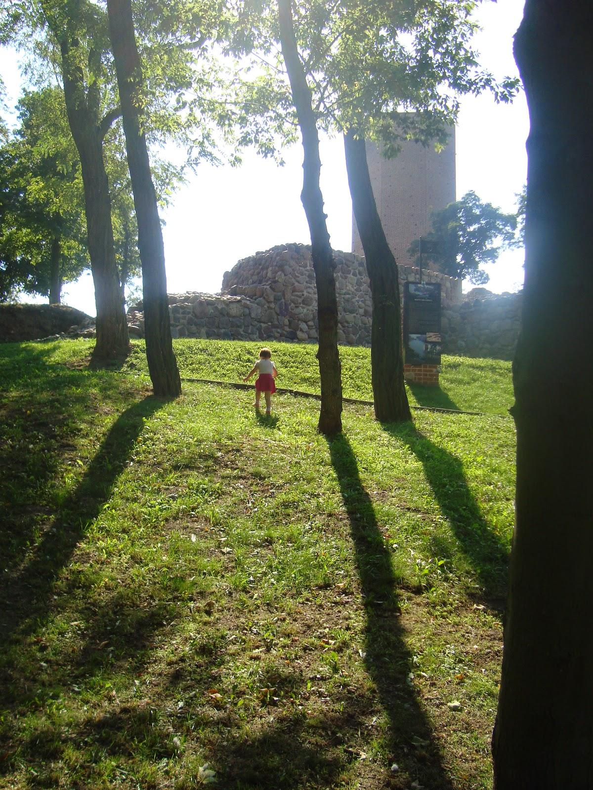 Kruszwica, Mysia Wieża, wakacje z dzieckiem