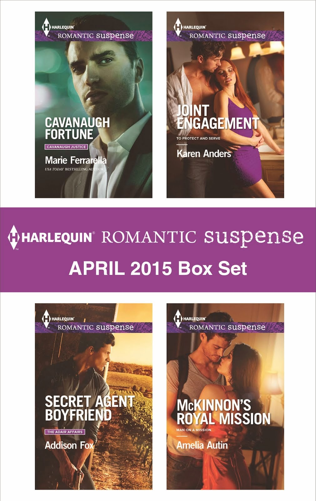 Harlequin April Releases