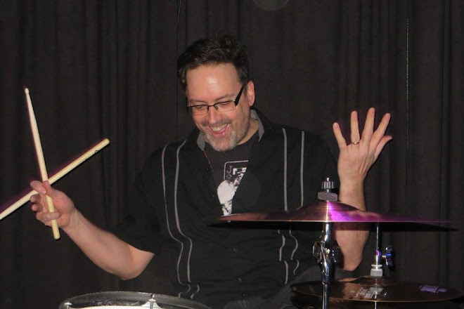 Martin loving the drums!