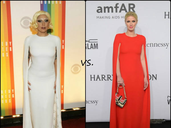 Lady Gaga vs Nicky Hilton