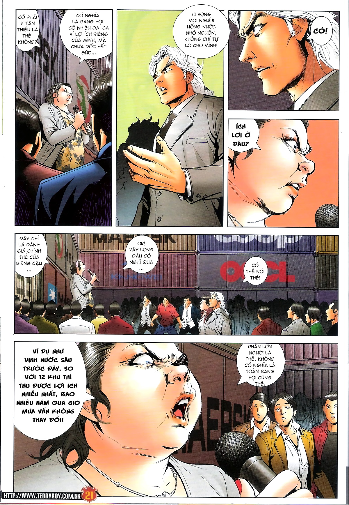 Người Trong Giang Hồ Chap 1644 - Next Chap 1645