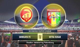 Sriwijaya FC vs Mitra Kukar