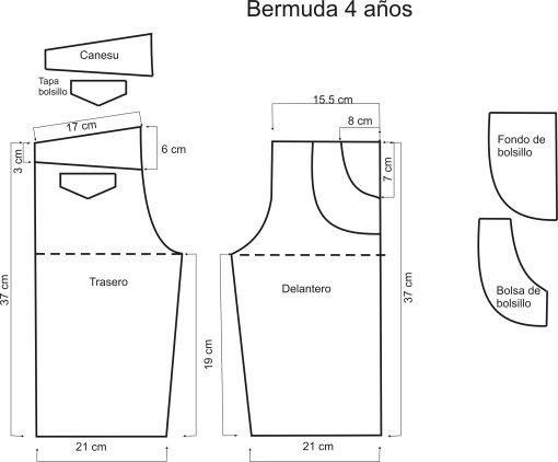 Как сшить мужские бермуды на резинке своими руками выкройка 50