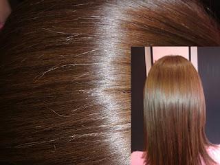 shiny warm shade blondish brown