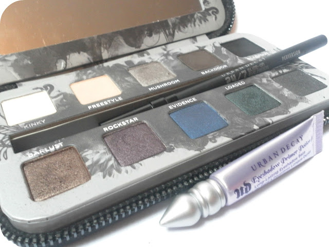 A picture of the Urban Decay Smoked Eyeshadow Palette