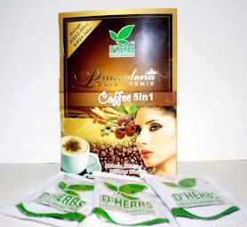 Primadona Gold Premix Coffe D'herbs RM22.00