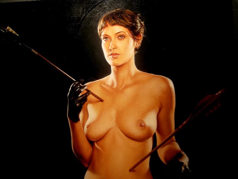 D.W.C. Lesbian - Painter Aaron Nagel